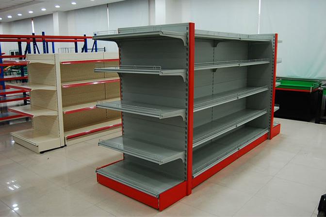 تعیین ابعاد قفسه بندی فروشگاه خرده فروشی